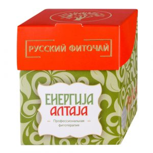 Ruski fitočaj ENERGIJA ALTAJA - Prirodno podizanje energetskog potencijala organizma