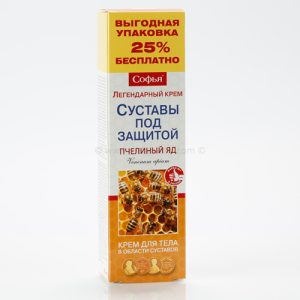 Ruski preparat SOFIJA Pčelinji otrov - krem za telo 125 ml